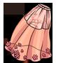 Peach Blossom Skirt