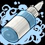 Snow Air Brush Paint Bottle