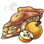 Endless Slice of Yellow Apple Pie