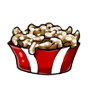 Sugar Coated Funnel Cake