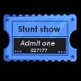 Stunt Show Ticket Stub